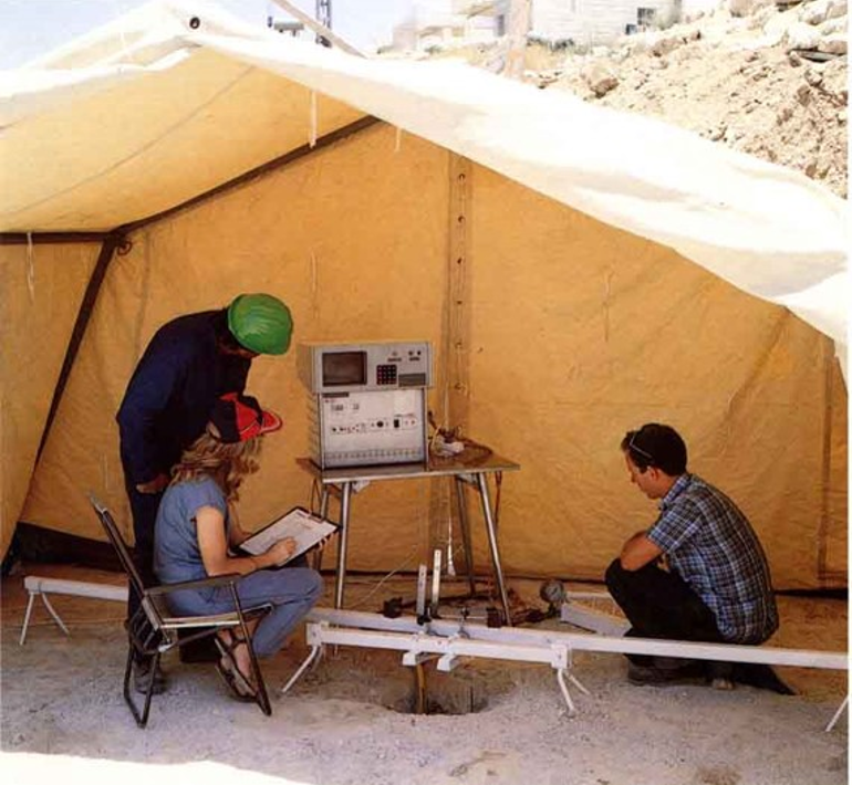 Fully computerized, Tomer loading test, 1982